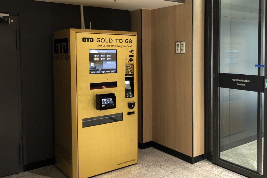 GOLD TO GO im Olympia-Einkaufszentrum